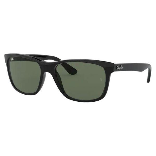 okulary przeciwsłoneczne ray ban rb 4181 601 czarny połysk