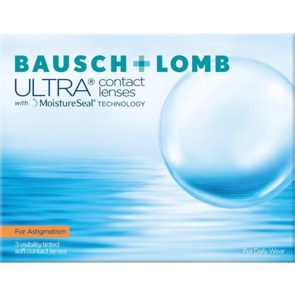 Bausch+Lomb Ultra for Astigmatism - miesięczne soczewki kontaktowe (3 szt)