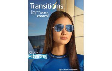 Cienkie fotochromy lustrzanki Ormix 1,6 Transitions XTRActive Style Mirrors
