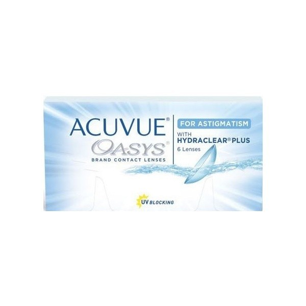 Acuvue Oasys for Astigmatism (6 szt.) - soczewki kontaktowe