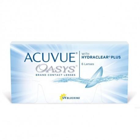 miesięczne soczewki kontaktowe Acuvue Oasys with hydraclear