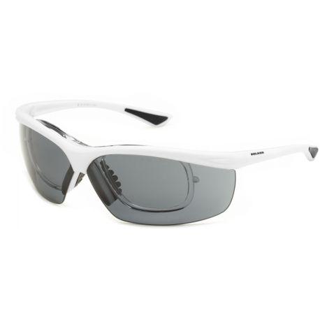 okulary sportowe korekcyjne Solano sp 60013 D białe