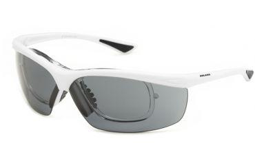 Okulary sportowe Solano SP 60013 D z wkładką korekcyjną, białe