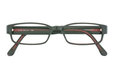 Oprawki korekcyjne Kamex C-48 c. 031 51/20 czarne z czerwonym