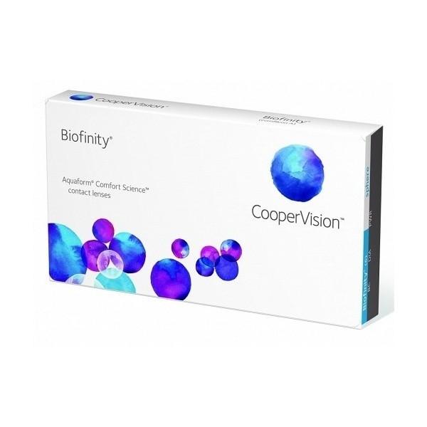 Biofinity - miesięczne soczewki kontaktowe (3szt)
