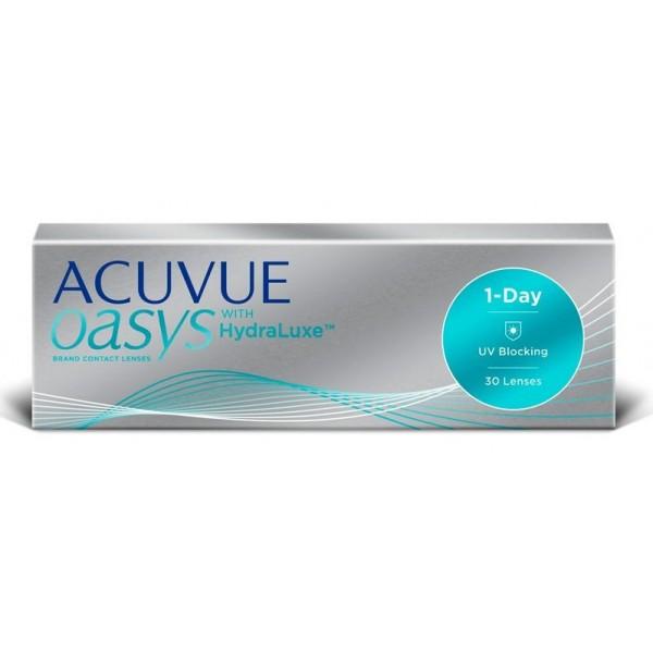ACUVUE 1-Day Oasys Hydralux - jednodniowe soczewki kontaktowe (30 szt)