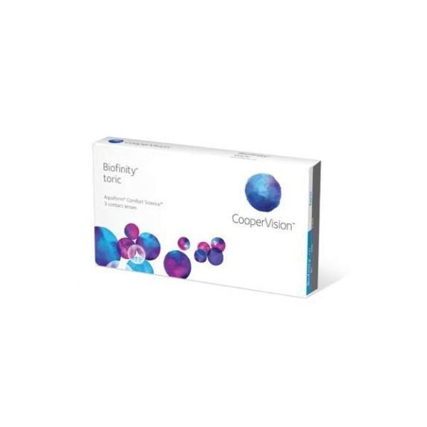 Biofinity Toric - miesięczne toryczne soczewki kontaktowe (3 szt.)