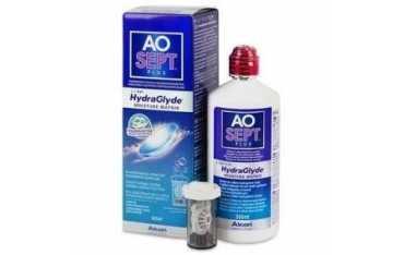 AOSEPT Plus HydraGlide 360 ml - płyn do soczewek kontaktowych bez konserwantów