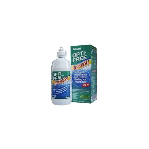 Opti Free Replenish 300 ml - płyn do miękkich soczewek kontaktowych