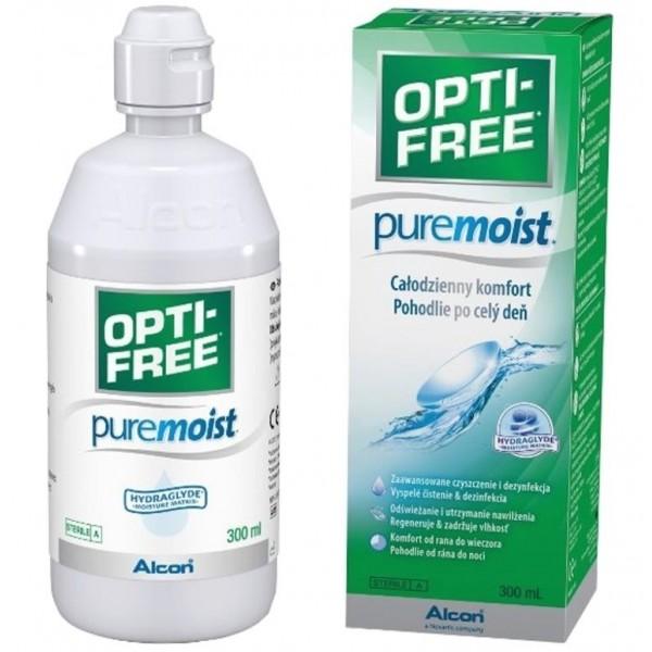 Opti Free PureMoist 300 ml - płyn do miękkich soczewek kontaktowych