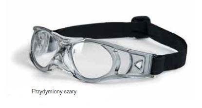 okulary sportowe Shoptic lekko szare, dymione rozmiar dla dzieci S